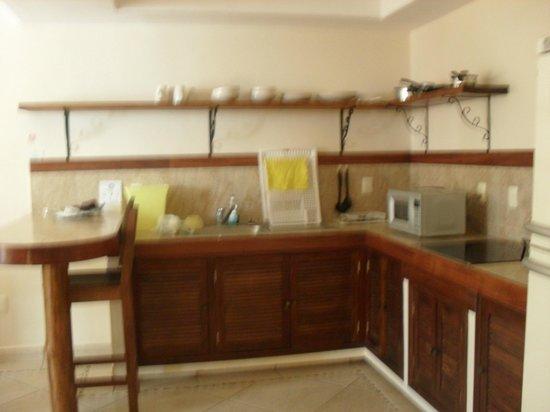 Villas Bakalar: cocina