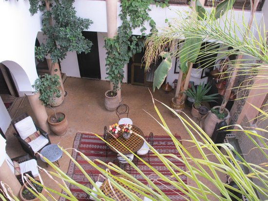Riad Mur Akush: View from second floor