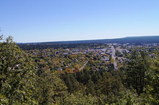 Lowell Observatory: View of Flagstaff