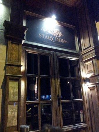 Stary Dom Restaurant : la façade