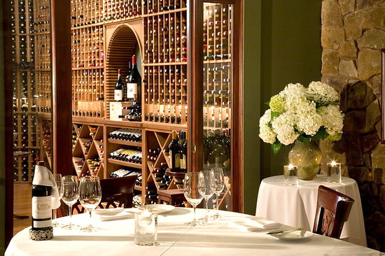 The Inn at Thorn Hill & Spa: Wine Cellar private dinner