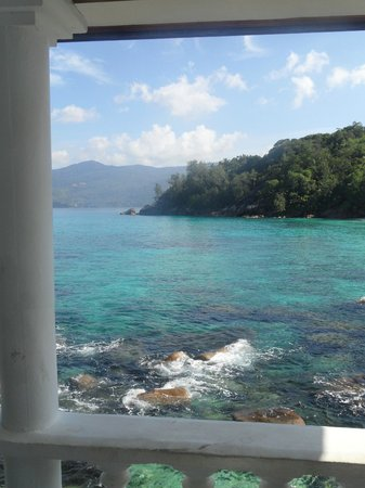 Anse Soleil Beachcomber: view from room 10