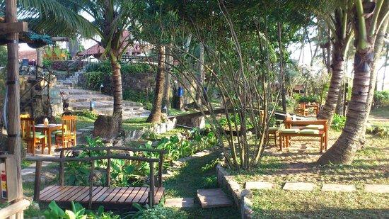 Cassia Cottage - The Spice House: Der Garten