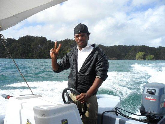 Parque Nacional Los Haitises: il nostro capitano
