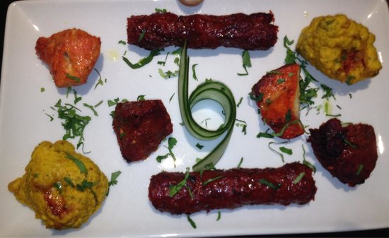 Tamarind Fine Indian Dining : Meat Platter