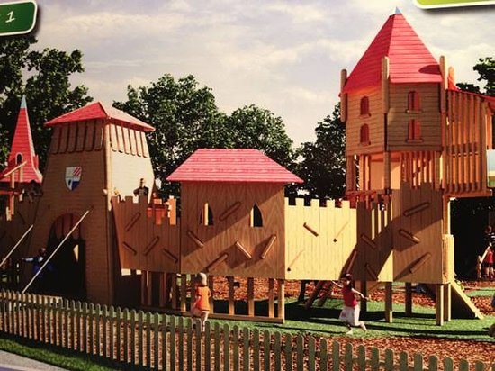 Plassey Retail Village: Welsh Castle Adventure Play Area - New for May 2014