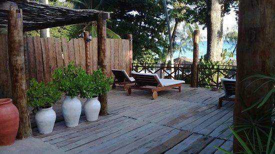 Vila de Taipa: deck