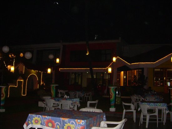 Longuinhos Beach Resort: The restaurant
