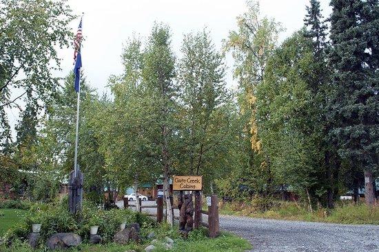 Gate Creek Cabins: Entrada