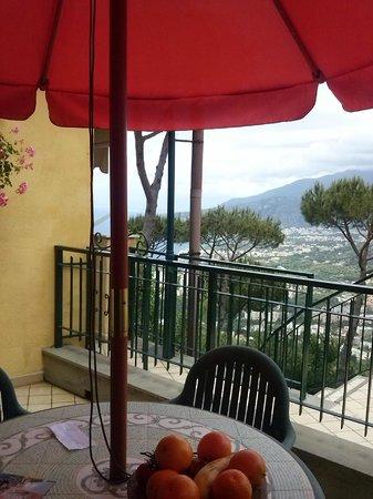 Hotel Residence Le Terrazze: vue de notre terrasse