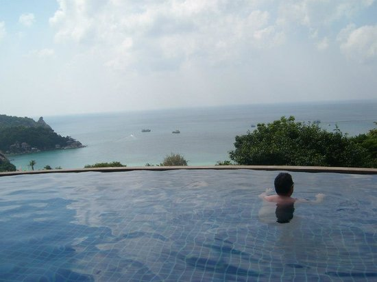 Chintakiri Resort : Me in the infinity pool - all to myself!