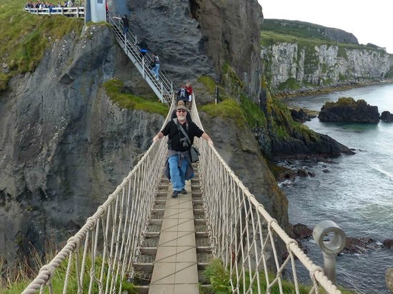 Carrick-A-Rede Rope Bridge: Intrepid and brave!