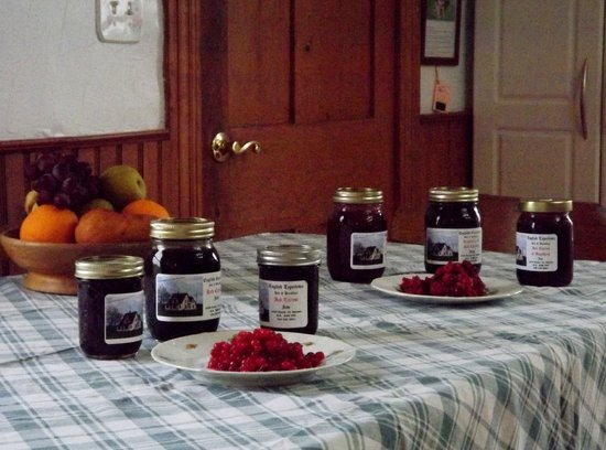 The English Experience Bed and Breakfast: Our home made jams