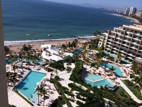 Secrets Vallarta Bay Resort & Spa: View from our room
