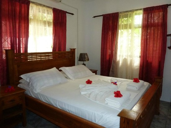 Buisson Guesthouse La Digue : Schlafzimmer