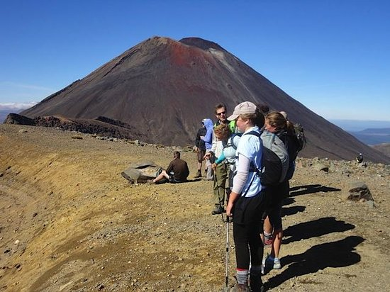 Tongariro Crossing Lodge : Best hike in NZ