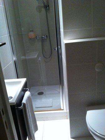 HOTEL DU DAUPHIN : la salle de bain 9