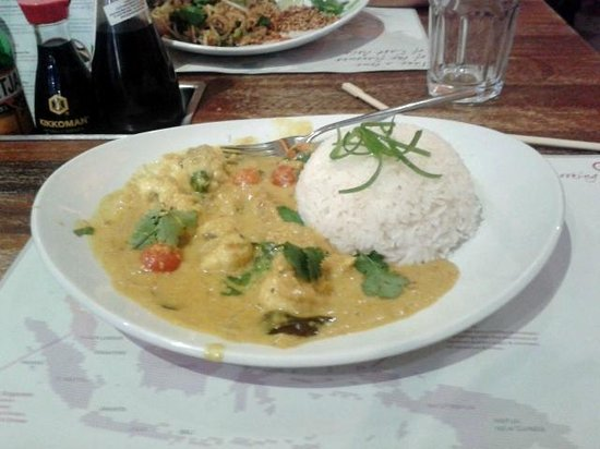 Tampopo Trafford Centre: The £14.50 curry !