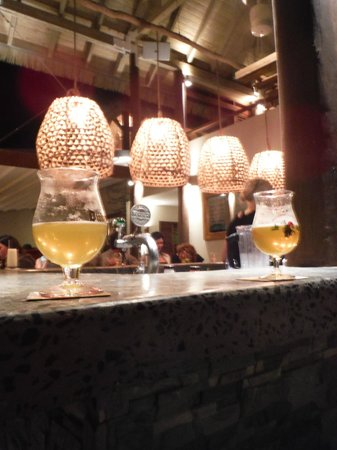 CocoMaya: Lots of great beer on tap