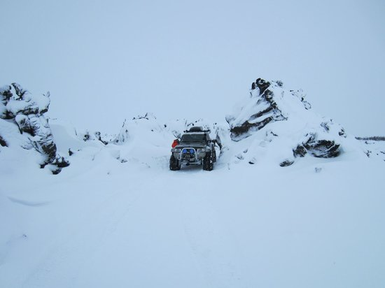 IceAk - Super Jeep Tours: Stop off for lunch