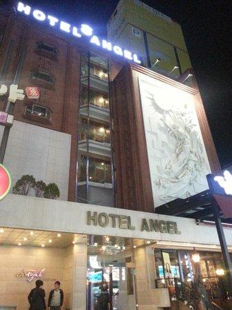 Hotel Angel: Exterior shot at night