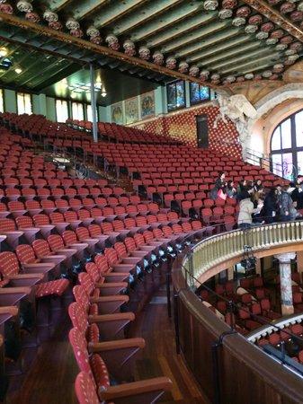 Palau de la Musica Orfeo Catala: Дворец каталонской музыки