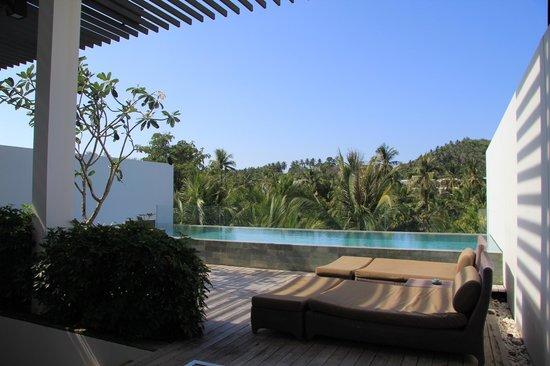 Twinpalms Phuket: терраса