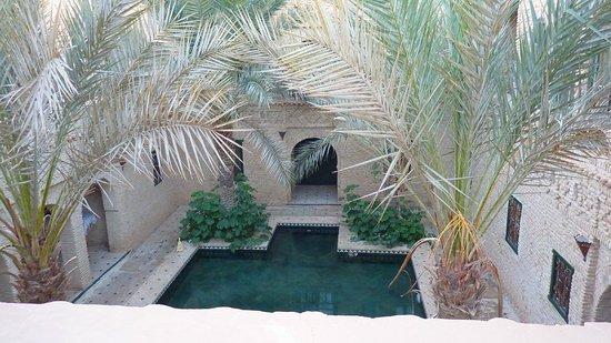 Darnejma : Vue terrasse du haut