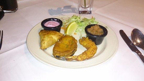 Rasa Maricham : mixed starter - light and tasty