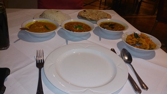 Rasa Maricham : Multiple main courses - delicious!