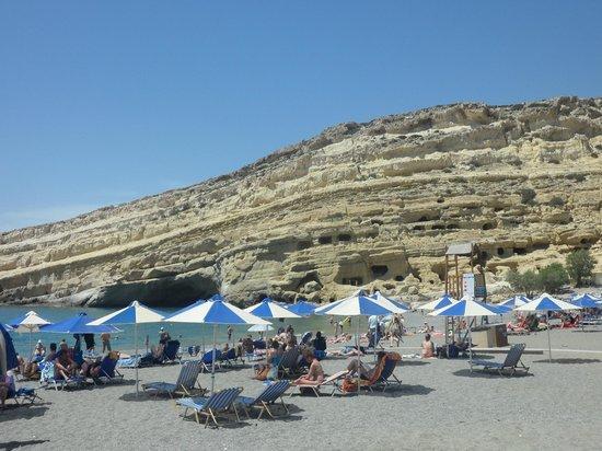 Golden Star Hotel : plage de matala, à voir absolument
