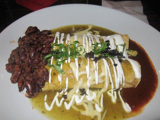 Manzana : Goat's Cheese Enchiladas