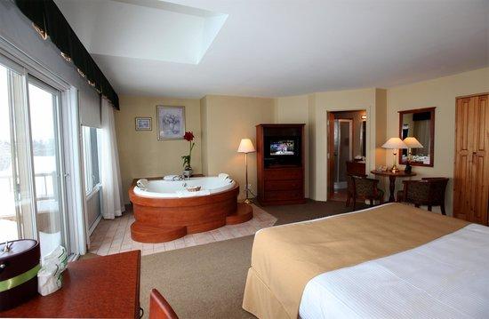 L'Auberge des Battures: De Luxe suite room