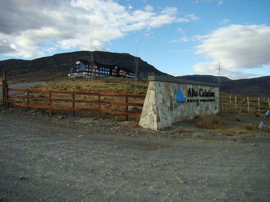 Alto Calafate Hotel Patagonico: INGRESO