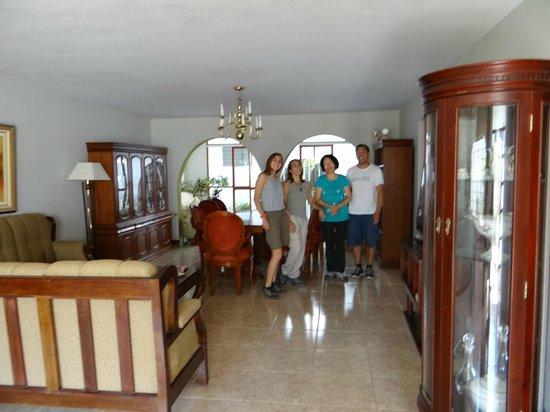 Nazca House: Comedor