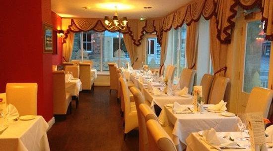Taj Mahal Amble: Restaurant interior