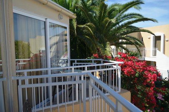 Nefeli Hotel : View from the balcony