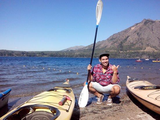 Cuadrante Sur Kayak Bariloche: gracias cuadranteeee