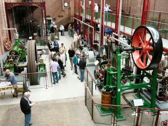 Bolton Steam Museum: Inside the museum.