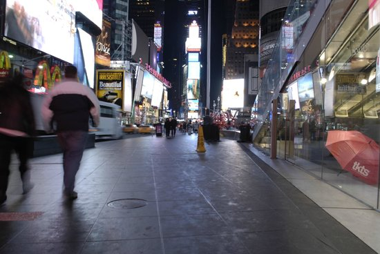 Times Square : Street view