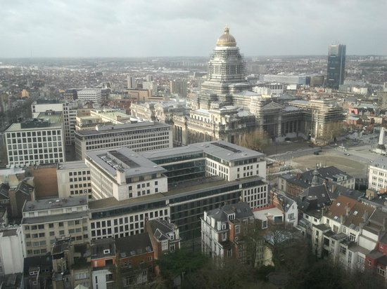 The Hotel - Brussels: View from room 2317
