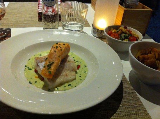 Novotel Maastricht: Bis di pesce