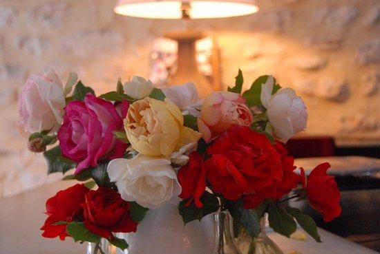 LE PARFUM BLEU : fleurs du jardin