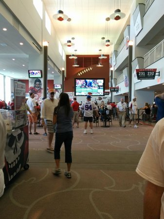 Raymond James Stadium: Inside