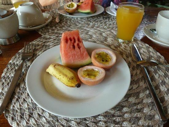 Augerine Guest House: Frühstück