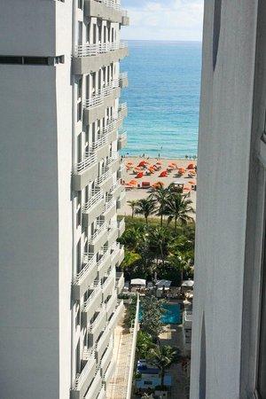 Royal Palm South Beach Miami, A Tribute Portfolio Resort : sliver of an ocean