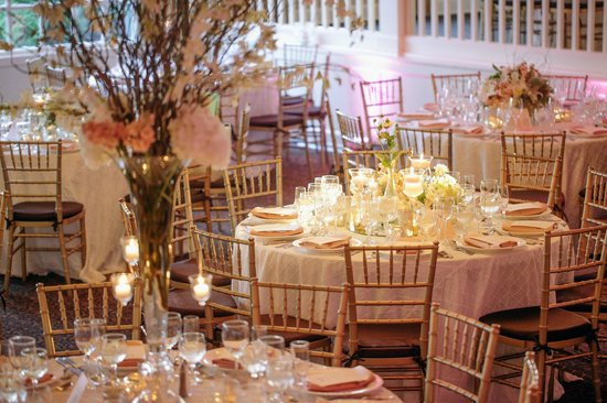 The Inn at Longshore: Elegant summer ballroom