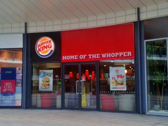 Burger King - Eagles Meadow: Burger King, Eagles Meadow, Wrexham