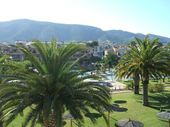 Albir Garden Resort: lovely view from room