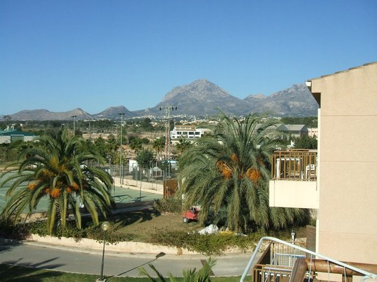 Albir Garden Resort: view from room